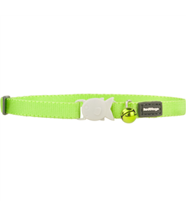 Kitten Collar Lime Green