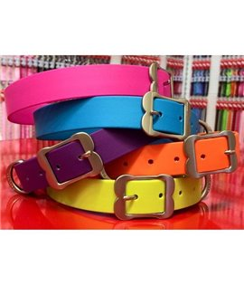 Collar Vivid PVC Purple