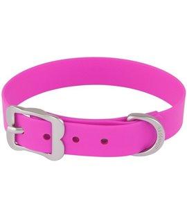 Collar Vivid PVC Hot Pink