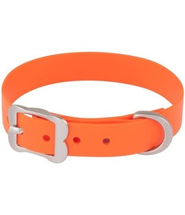 Collar Vivid PVC Orange