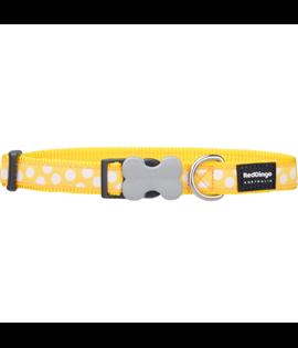 Dog Collar White Spots on Yellow