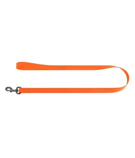 Dog Lead WAUDOG Waterproof, soft and durable. ORANGE