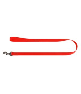 Dog Lead WAUDOG Waterproof, soft and durable. RED