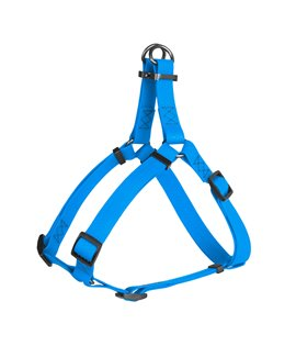 Harness WAUDOG Waterproof, soft and durable, metal hardware. BLUE