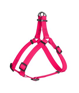 Harness WAUDOG Waterproof, soft and durable, metal hardware. PINK
