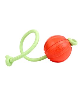 "Liker Lumi 7 - a ball for dogs of small and medium breeds with the ""glow in the dark"" cord"