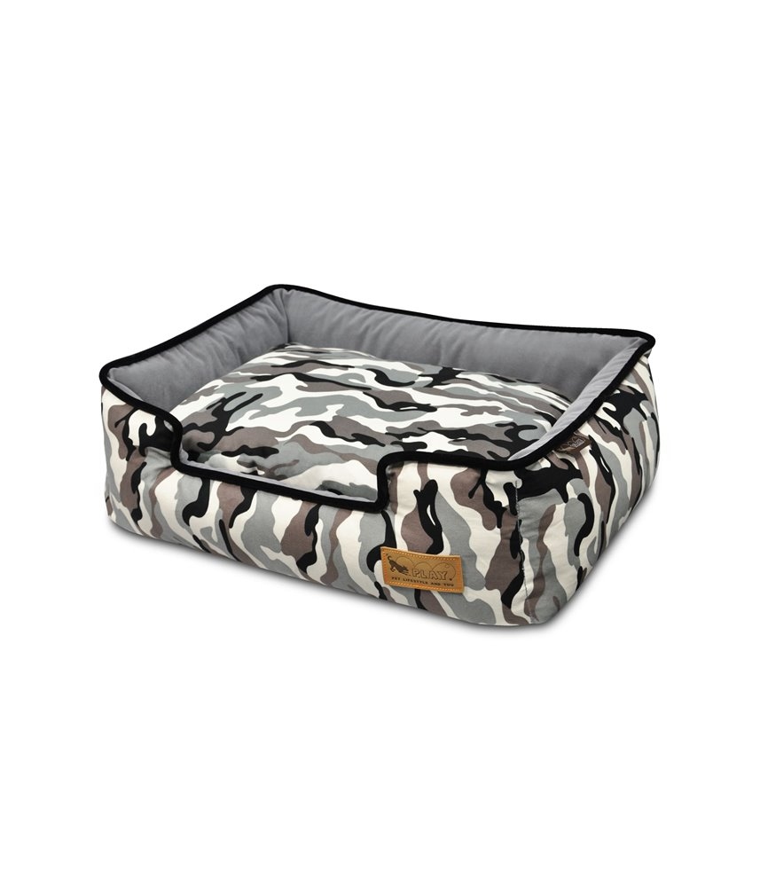 Camouflage Lounge Bed - White Camo