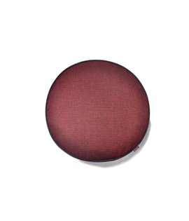 Houndstooth Round- Red
