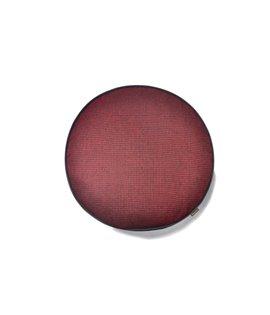 Houndstooth Round- Red