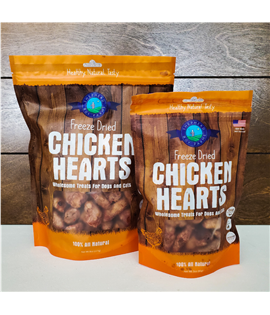 3oz Freeze Dried Chicken Heart
