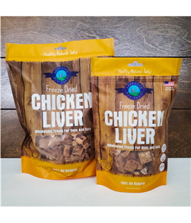 3oz Freeze Dried Chicken Liver