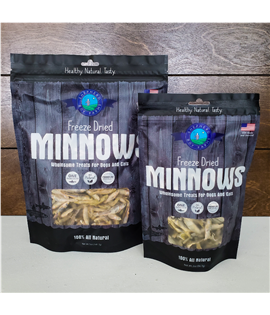 2oz Freeze Dried Minnows