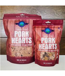 3oz Freeze Dried Pork Heart
