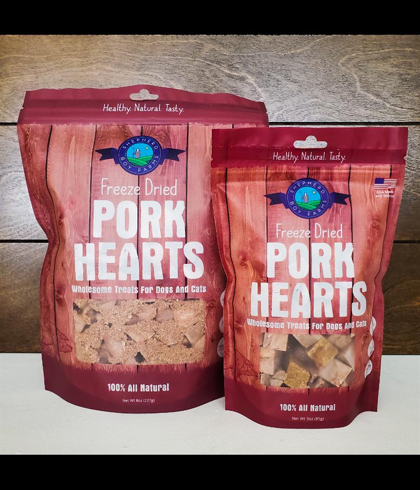3oz Freeze Dried Pork Heart